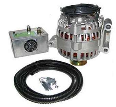 High Output Alternator Amps