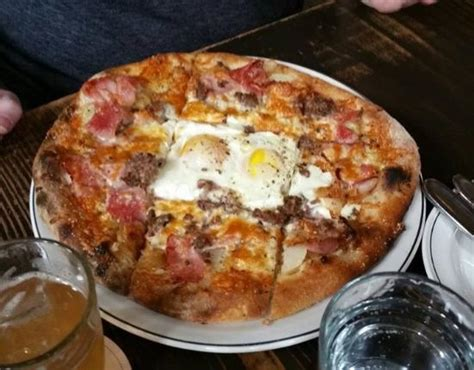 breakfast pizza picture  woodberry kitchen baltimore tripadvisor