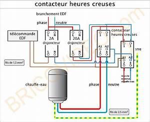 Chauffe Eau 380v : comment r parer branchement chauffe eaux heures creuses ~ Edinachiropracticcenter.com Idées de Décoration