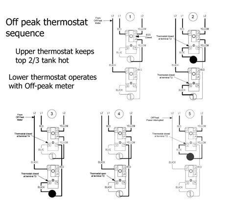 electric water heater single element wiring diagram water