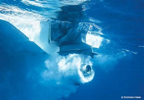 Boat Propeller Underwater by Alert Diver Boat Collision And Propeller Safety