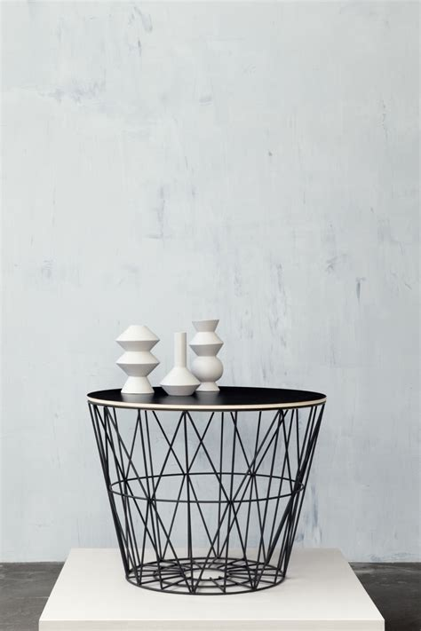 Wire Basket Ferm Living by Decordots Ferm Living Ss14 Collection