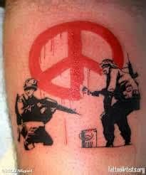 banksy tattoo   ideas  designs