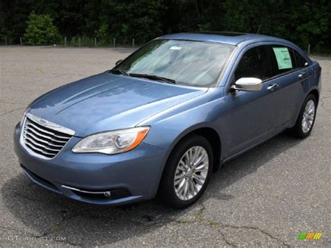 2011 Chrysler 200 Limited by 2011 Sapphire Metallic Chrysler 200 Limited