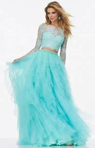 Top Prom Dress Designers Mori Lee Prom 99124 Long Two Piece Long Sleeves