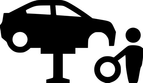car tire repair svg png icon