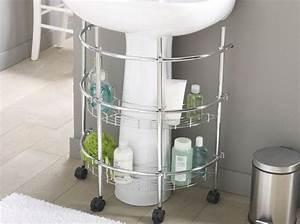 Etagere Sous Lavabo : petite salle de bains les meubles qu 39 il vous faut elle d coration ~ Teatrodelosmanantiales.com Idées de Décoration