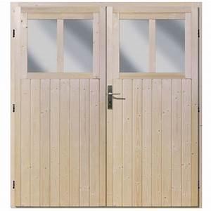 Double porte pour abri de jardin wandlitz 19 mm fenetres for Double porte fenetre