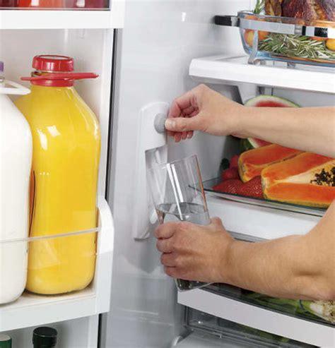 monogram zfgbhzss  cu ft counter depth french door refrigerator  spill proof glass