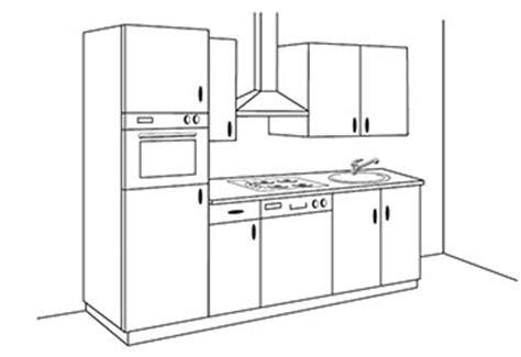 implantation type cuisine aménager sa cuisine conseils en aménagement intérieur de