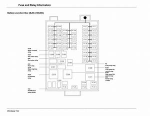 Ford Freestar Fuse Box Diagram Pdf