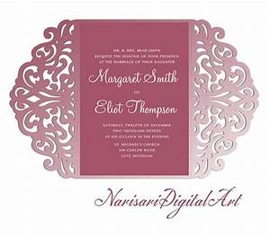 209 best laser cut wedding invitations images on pinterest With round laser cut wedding invitations
