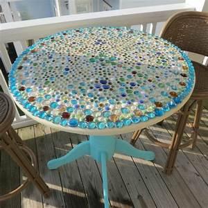 Mosaik Basteln Ideen : gartentisch aus mosaik 30 super modelle ~ Lizthompson.info Haus und Dekorationen
