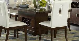 Dining Room Table With Wine Rack Marceladick com