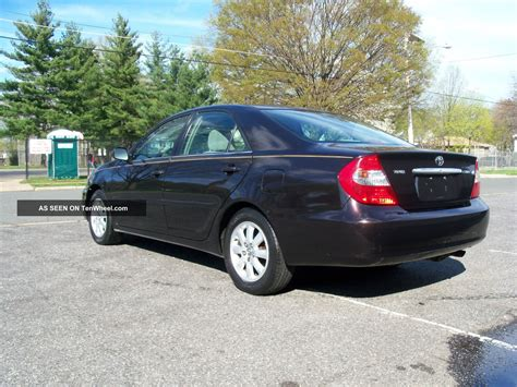 2002 Toyota Camry by 2002 Toyota Camry Xle Loaded And Serviced