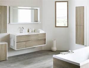 salle de bains les dernieres tendances bathroom With modele salle de bain gris et blanc