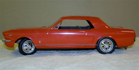 1966 Ford Mustang Gt Coupe Promo Model Car  Model Cars