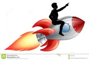 Riding Rocket Ship