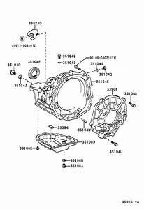 2001 Toyota Rav4 Case Sub-assembly  Automatic Transaxle  Transmission  Driveline