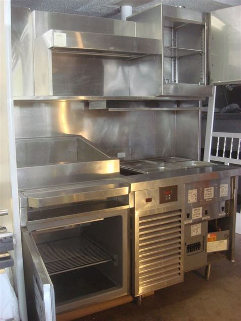 taco prep table station randell taco cart cc