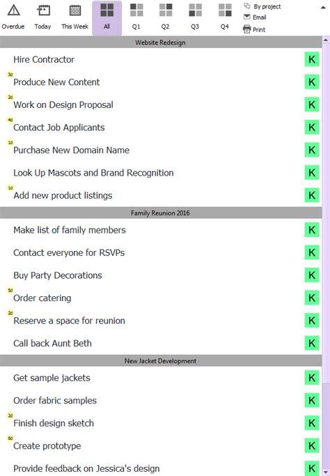 master task list master   list template  tips