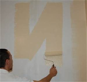 peindre avec un rouleau With peindre un mur au rouleau