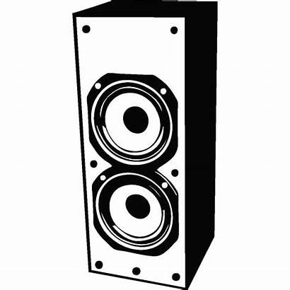 Parleur Haut Sticker Stickers Musique Ambiance Speaker