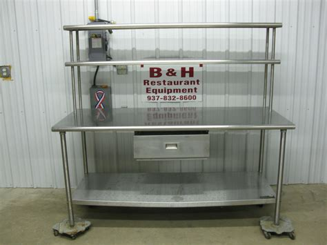stainless steel food prep table with sink furniture chic stainless steel prep table for kitchen