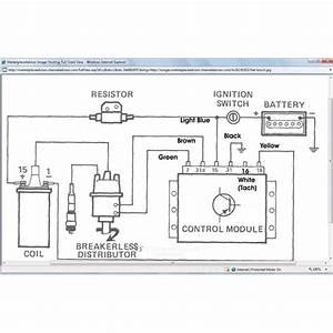 Pertronix Fiat X19 Electronic Ignition Wiring Diagram