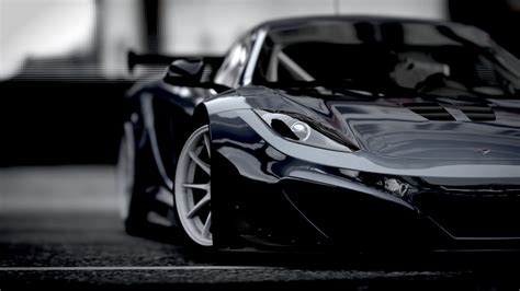 Mclaren P1 Wallpaper Black