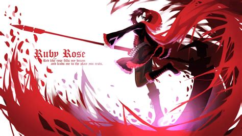 anime character spotlight ruby rose anime  video
