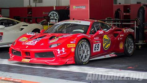 first ferrari race naza world introduces the first and only malaysian to race
