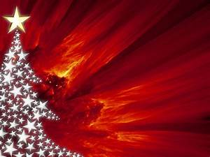 Free Christmas PowerPoint Backgrounds – Red Xmas ...
