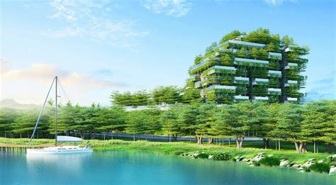 """Vietnam's """"Forest in the Sky"""" apartment building is topped"""
