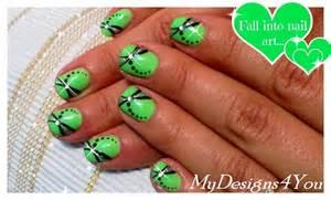 Easy summer nail art for short nails