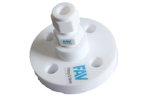 teflon flange  tube adaptors fav