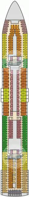 carnival sensation deck plan carnival sensation deck 6 plan cruisemapper