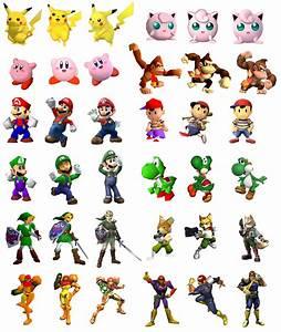 The Evolution Of Smash Bros Chart Raises An Interesting
