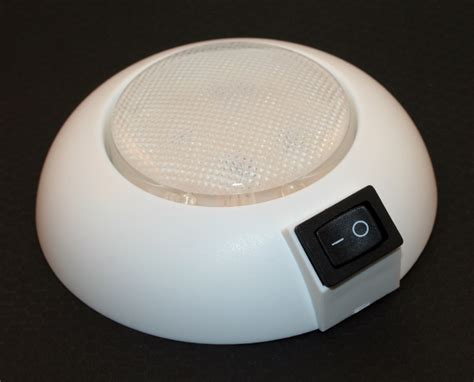 led dome light 4 quot diameter waterproof cool or warm