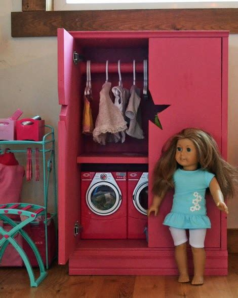 ana white star doll closet  american girl   doll