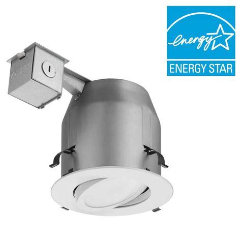 led recessed lighting kit lithonia lighting 5 in matte white recessed gimbal