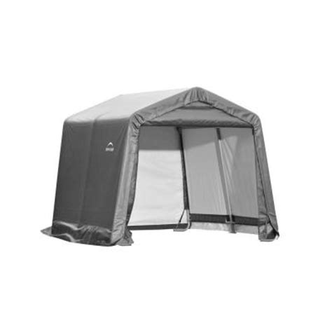 shelterlogic shed in a box 10 ft x 10 ft x 8 ft gray
