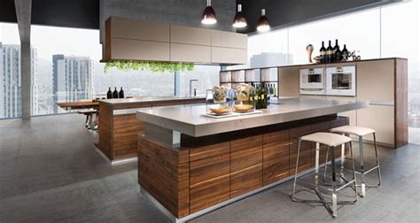K7 Wood Kitchen Ideas : Modern For Open Living Areas