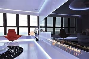 Provita De Luxe Top T : ekologiczny kominek w nowoczesnym salonie architektura wn trza technologia design homesquare ~ Bigdaddyawards.com Haus und Dekorationen