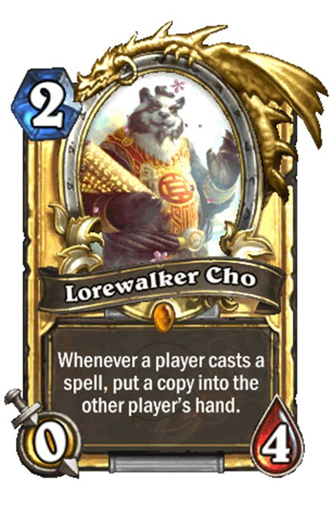 Lorewalker Cho Deck Priest by Lorewalker Cho Hearthstone Heroes Of Warcraft Wiki