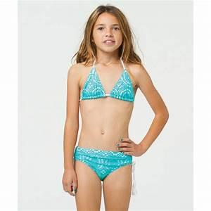 Billabong Girls' Crochet Triangle Bikini from Billabong