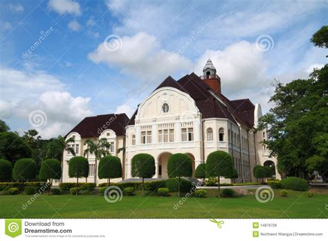 modern european architecture palace stock photo