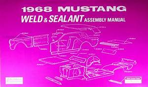 1968 Ford Cd Repair Shop Manual  U0026 Parts Book Mustang Fairlane Torino Ranchero Falcon