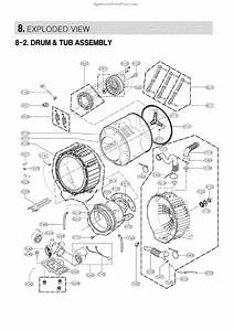 Parts For Lg Wm3997hwa    00  Drum And Tub Parts