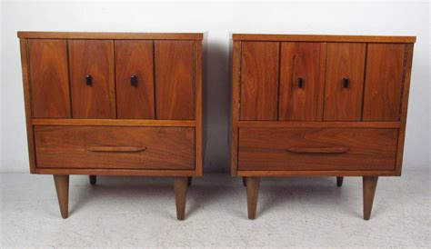 mid century bedside ls mid century modern bedside cabinets for sale at 1stdibs